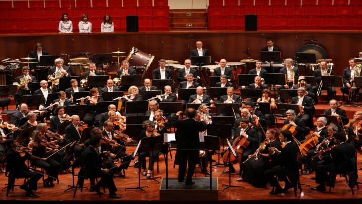 A casa con l'orchestra rai