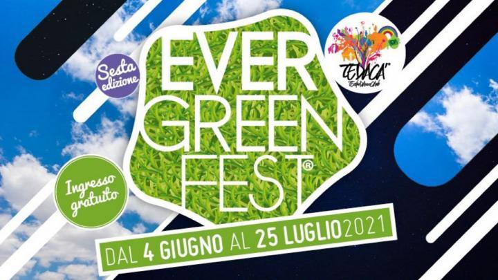 Evergreenfest 2021 logo